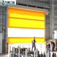 China manufacturer KJM-550 roll up door high speed door