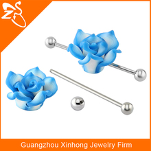 316l ear piercing stainless steel body puncture jewelry