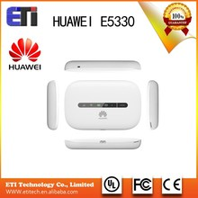 Original Unlocked HSPA+ 21.6Mbps HUAWEI E5330 3G Portable Wireless WiFi Rou Support HSPA+/HSPA/UMTS 2100/900MHz