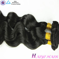 One Donor Unprocessed Large Stocks Natural Colour Synthetic Brazilian Hair