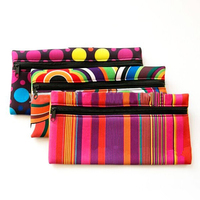 Zippered high end travel cosmetic bag