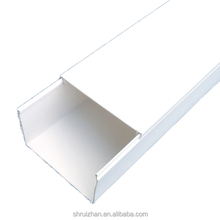 High Quality PVC Wire Cable Ducts Plastic Cable Trunking