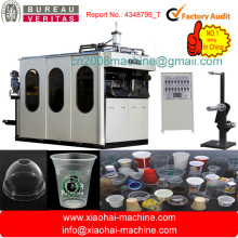 Full Automatic PP PS PET Plastic Cup Making Machine For Juice Cup,Yogurt,Milk,Water Cup