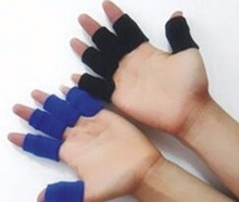 Sports Finger Protector And Wrist Sweatband,Stretchy Finger Sleeve Protector