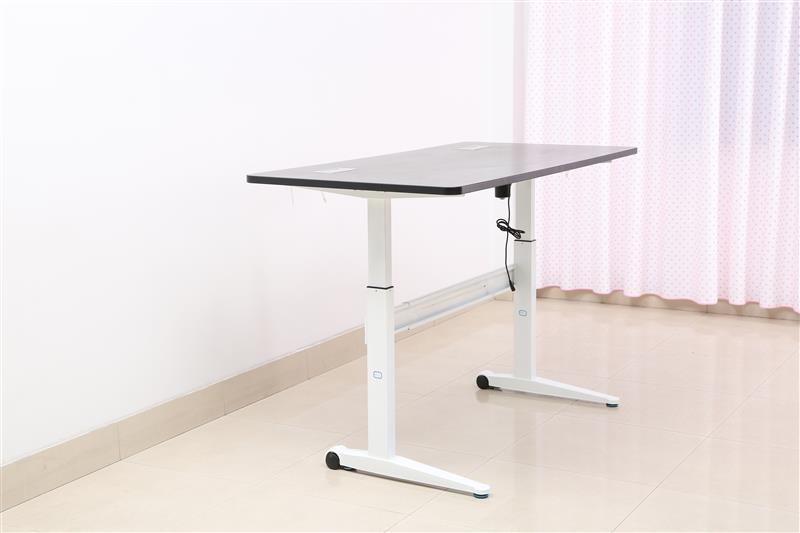 microsoft office 2013 two feet sit stand electric height adjustable desk&table with BIFMA certification