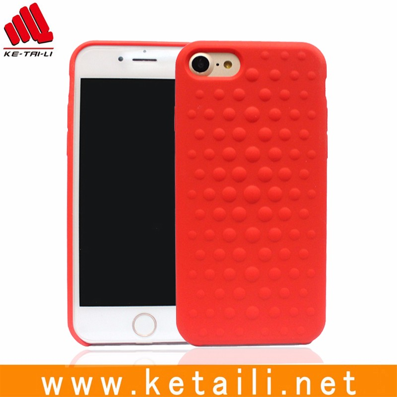 Professional Silicone PC mobile phone shell, for iphone 7 and 7 plus phone case