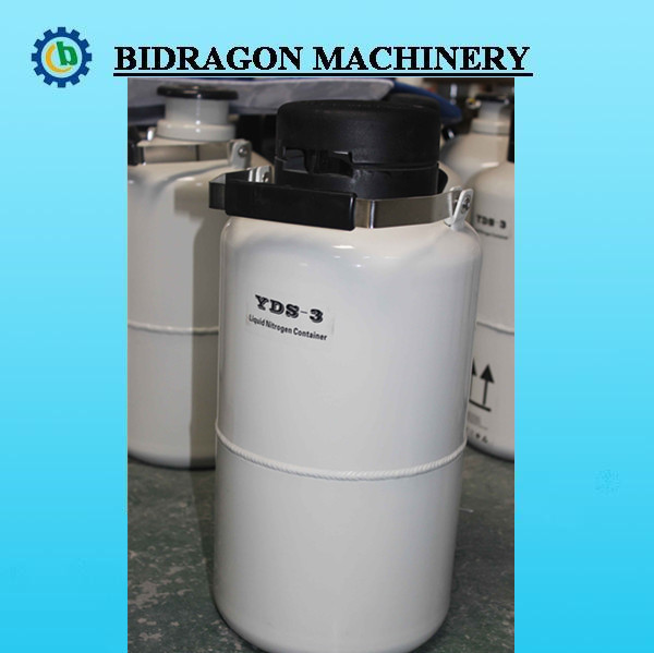 2 L Liquid Nitrogen Container Cryogenic LN2 Tank Dewar with Strap YDS series