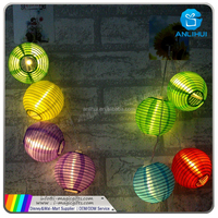 Waterproof Decorative Solar Powered Led String Lights Outdoor Garden Patio Lantern