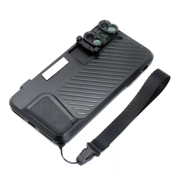 mobile phone accessories with back cover case phone lens kit