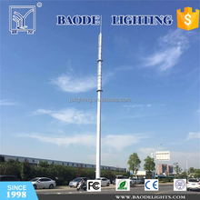 Microwave Antenna Mast and Communication Tower made of Steel Pole with Good Price