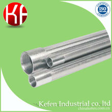 Fire resistant BS4568 BS31 galvanized steel electrical conduit pipe for parking lot monitor installation