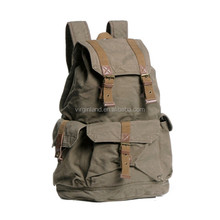 2350 Military Style Durable Canvas Men's Backpack Bag