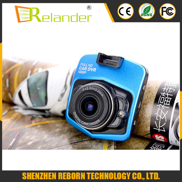 mini car DVR camera GT300 support digital video recorder parking monitoring and night vision motion detection