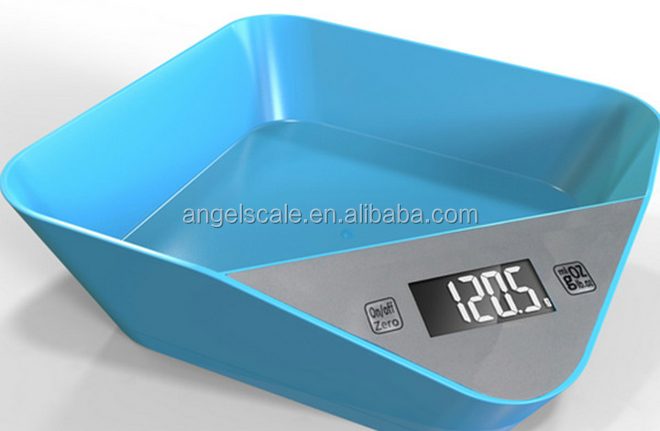food grade electronic food weighing scale digital kitchen scale with bowl