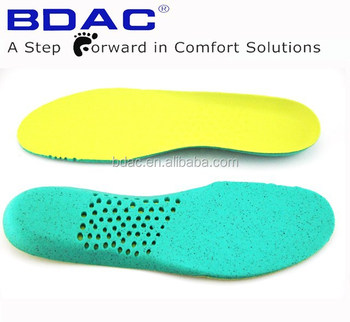 foot cushion shoe insole anti-bacteria insole ortholite insole