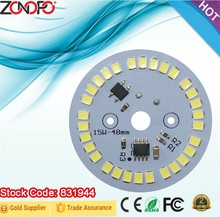 15w 3w 5w 7w 9w 12w driver and LED together 220v direct smd2835 triac dimming led indoor light high voltage ac pcb