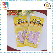 Customized Popular Auto Perfume Air Freshner Paper