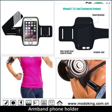 Waterproof Leather ArmBand Phone Holder Case for Outdoor Running Sport Gym Jogging