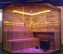 steam sauna room led light