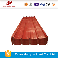 house roof model roof sheet galvanized steel