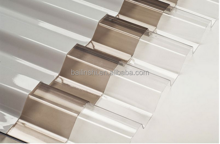 lexan Greca polycarbonate roofing sheet