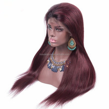Premium quality cheap lace front wig with baby hair, 100% brazilian human hair lace front wig