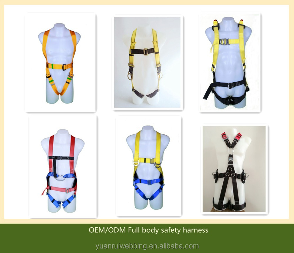 Variable safety security body harness
