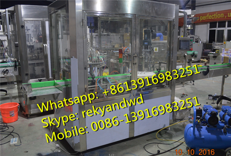 High quality honey jar filling and capping machine