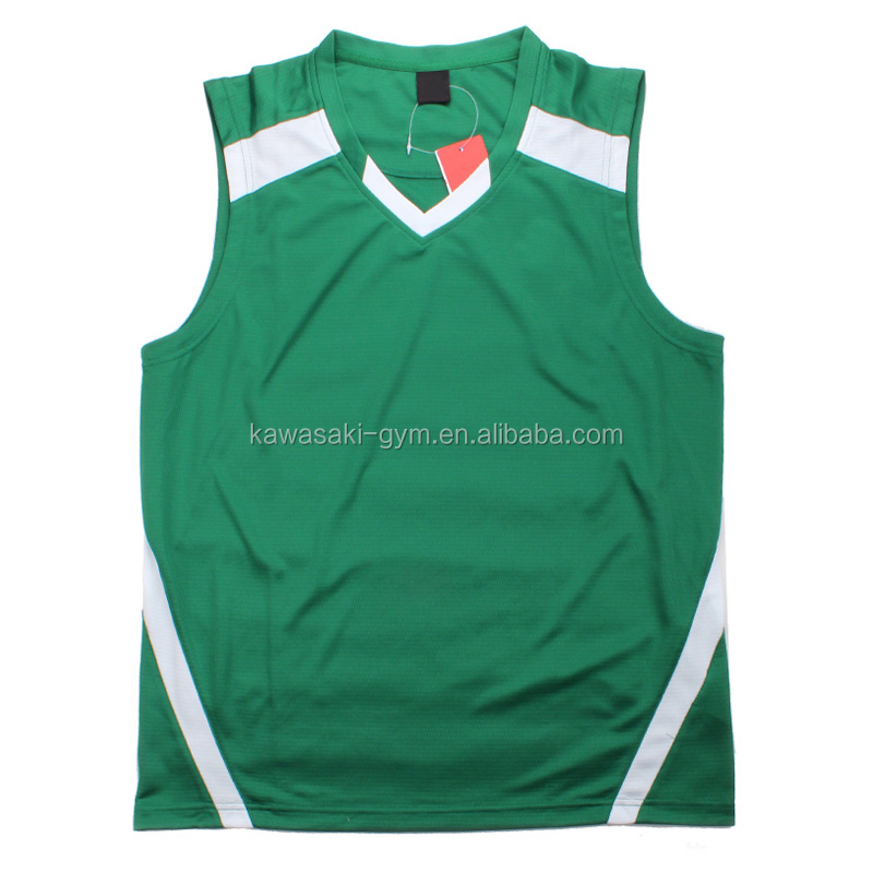 Logo Printed Custom Best bule and green color design your logo Basketball Jersey