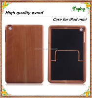 Wooden Back Cover Case For Ipad Mini Cell Phone Cover For Ipad Mini