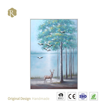 Top selling High Quality Hanging Decoration Design for Home Decorations Handmade Gift Oil Painting For Gifts