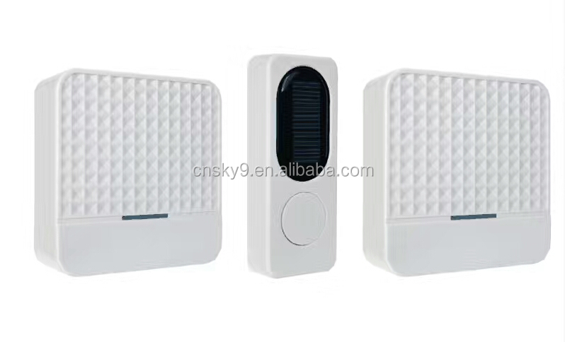 433MHZ 52Chimes Long range wireless hotel doorbell with 85db Volume ,operating 1000feet