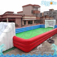 Inflatable Soap Water Football Field Pitch Inflatable Sport for Competition