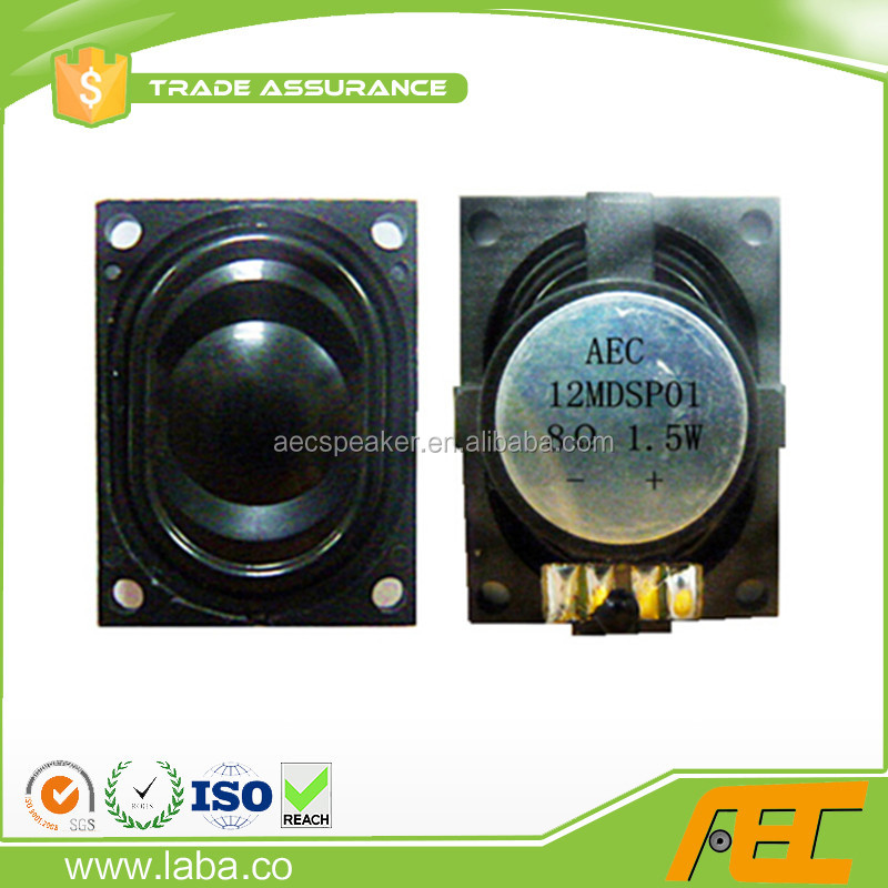 Small & Mini 20*27MM 8ohm 1.5M Laptop Internal Speaker