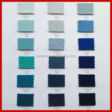 Stock pure cashmere color shade cards available Free yarn sample color card