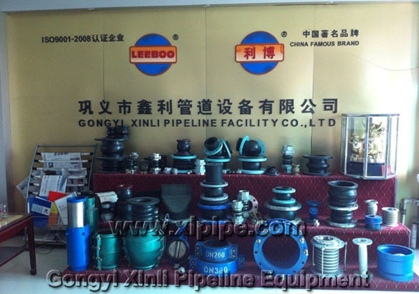 Flexible union thread neoprene rubber expansion joints