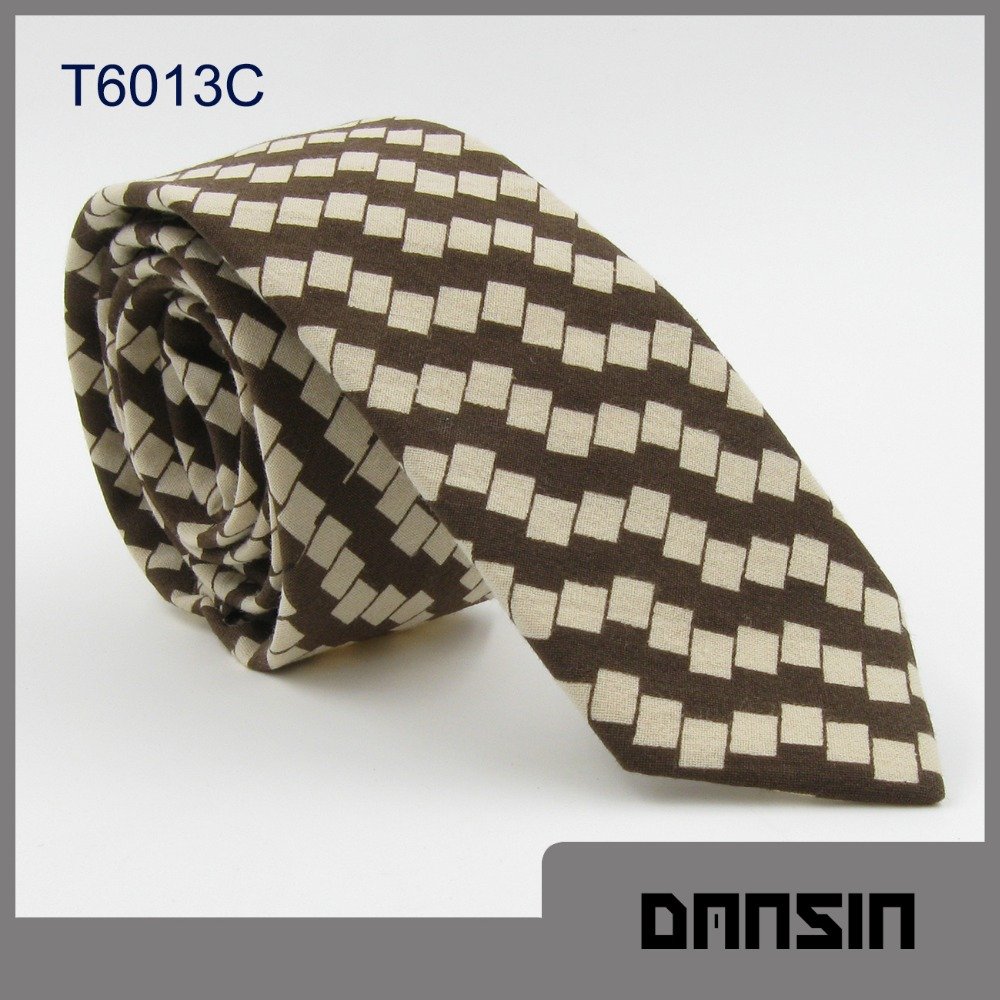 Classic Design High Quality Men Cotton Batik Necktie
