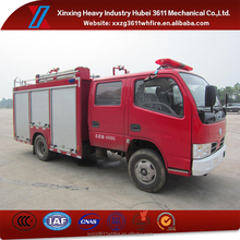 Hot New Products Euro4 2000L Mini Water Tank Fire Truck
