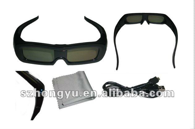 Strong Effect Cheap Universal Active Shutter 3D Glasses Factory Price