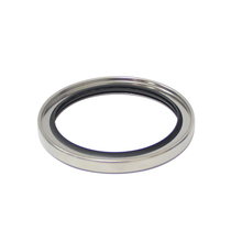Double Lip Single Lip PTFE Shaft Oil Seal With Stainless Steel Case