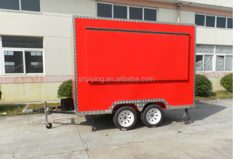 FS400C Yiying factory made brand new mobile advertising mobile kebab van for hot dog