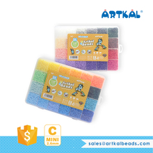 Artkal 48 colors DIY toys hama beads CC48 box sets mini perler fuse beads