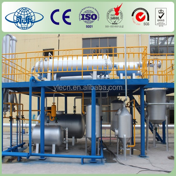 Excellent performance Waste Tire To Oil Recycling Machinery