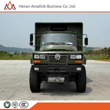howo motor 260hp 6x6 dump truck for millitary use made in china