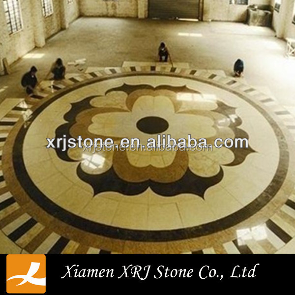 Marble Tile Round Mosaic Medallion