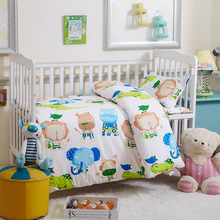 Baby patchwork bed sheet 3pcs wholesale bed linen