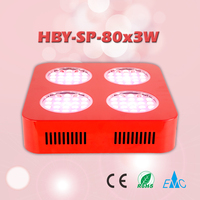 Red&Blue Hydroponic Light 3w Led Grow Light Full Spectrum for Medical Plant Veg Flower Growth