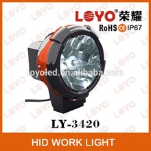4inch 35W/55W H3Bulb Spot Beam HID Offroad Work Light, Driving Fog Lamp