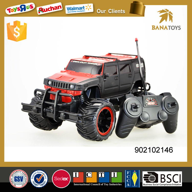 4 Function child rc toy electric suv