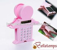 Baby style calculator with clip and magnet